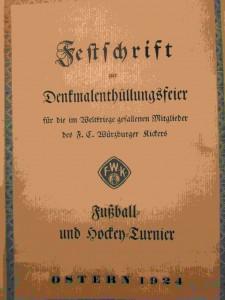 Festschrift Würzburger Kickers