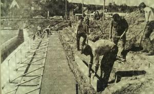 Bauarbeiten am Dallenberg