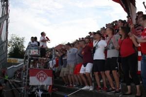 B-Block Wuerzburg Kickers Muenster 6