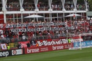 B-Block Wuerzburg Kickers Muenster 7