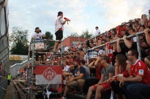 B-Block Wuerzburg Kickers Muenster 11