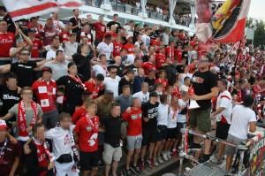 B-Block Wuerzburg Kickers Muenster 9
