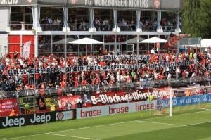 B-Block Wuerzburg Kickers Rostock 5