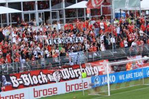B-Block Wuerzburg Kickers Rostock 6