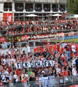 B-Block Wuerzburg Kickers Rostock 8