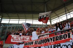 B-Block Wuerzburg Magdeburg Kickers 10