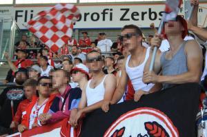 B-Block Wuerzburg Magdeburg Kickers 8