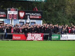 B Block Wuerzburg WFV Kickers 1