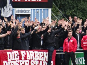 B Block Wuerzburg WFV Kickers 2